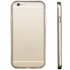 USAMS IP6QY05 Protective PC + TPU Back Case for IPHONE 6 - Golden + Transparent