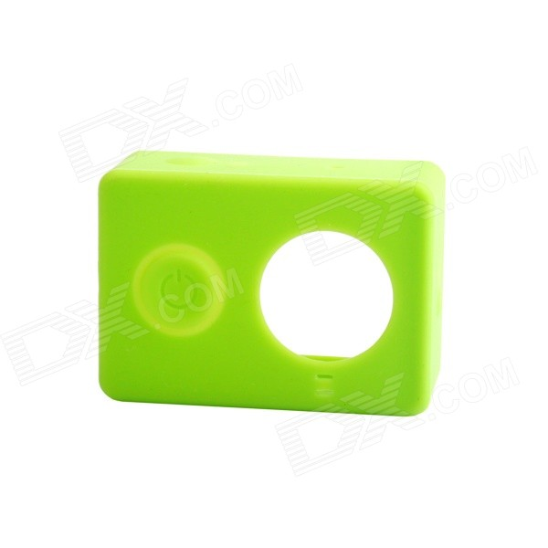 PANNOVO G-848 Silicone Shell Case for Xiaomi Xiaoyi - Green
