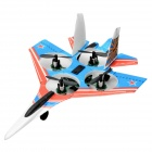 Cheerson CX-12 2.4GHz R/C Remote Control 4-CH 6-Axis Gyro Mini Quadcopter Warplane Toy - Red + Blue
