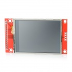"2.4"" TFT SPI Serial LCD Module for Arduino - Red"