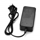 US Plugss 2-Slot 18650 Li-ion Battery Charger - Black
