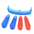 Replacement ABS Lamp Covers for JJRC H12C-15 Quadcopter - Red + Blue