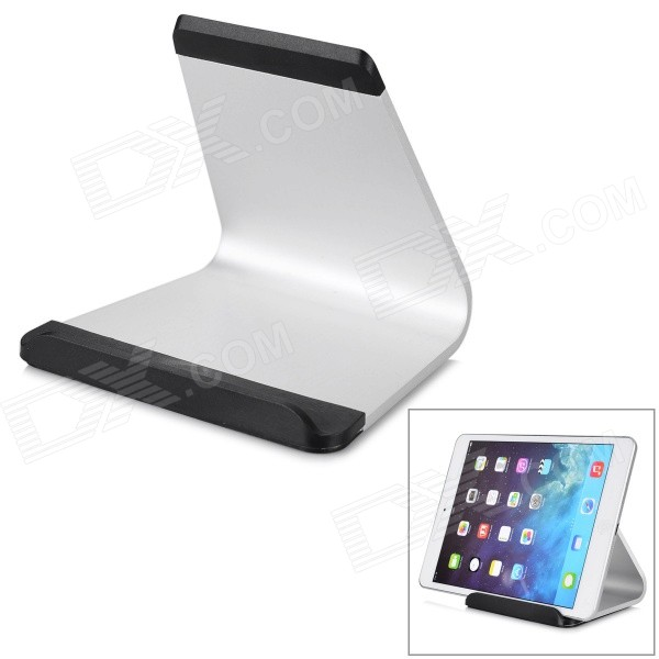 5a3cfb704 Aluminum Tablet Holder Stand for IPAD MINI 2 / 4 / 5 + More - Silver ...