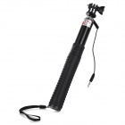 Mini Smile 6-in-1 Multifunction Retractable Selfie Monopod + Screw + Adapter + Mirror Set - Black