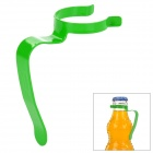 EDCGEAR 7 Shaped Stainless Steel Water Bottle Clamp Holder - Green
