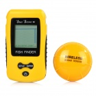 "Portable 2.0"" Screen Wireless Fish Finder Detector - Yellow (2 * AAA)"