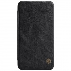 NILLKIN QIN Series Protective PU Leather + PC Case Cover for Samsung Galaxy E7 - Black