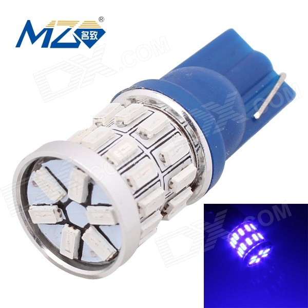 MZ T10 3W 30-3014 SMD 360lm 440~480nm Blue Car Lamp (12V)
