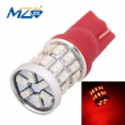 MZ T10 3W 30-3014 SMD 360lm 630~660nm Red Car Lamp (12V)