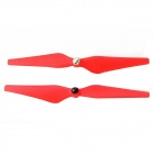 9450 Plastic Self-locking Propeller with Luminous for Multicopter Frame - Red (Pair)