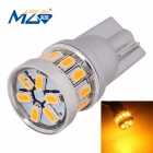 MZ T10 1.8W Car LED Clearance Lamp Golden Light 18-3014 SMD 216lm 577~597nm (12V)