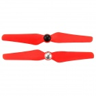 6032 Plastic Self-Locking CW & CCW Propellers - Red (Pair)