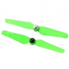 6032 Plastic Self-Locking CW & CCW Propellers - Green (Pair)