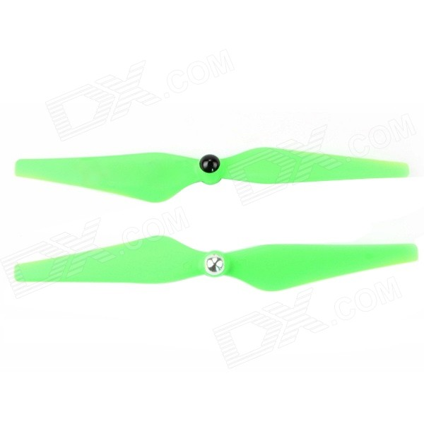 9045Plastic Self-locking Propeller CW / CCW - Green (Pair)