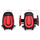 RUITAI 360° Rotatable Car Mount Holder for Cellphone - Black + Red