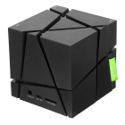 LED Colorful Bluetooth Mini Speaker w/ TF Card Reader, FM, Mic - Black