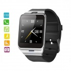 "GV18 1.54"" Wearable GSM Smart Phone Watch w/ NFC / Remote Control Camera - Black + Silver"