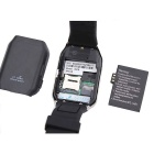 "GV18 1.54"" GSM Smart Watch m/ 64MB RAM, NFC - Zwart + Zilver"