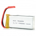 3.7V 750mAh 20C Battery for JJRC H8C, H12C Aircraft - Silver