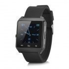 "M28 1.4"" TFT Wearable Bluetooth V3.0 Smart Watch w/ Hands-free Calls, Pedometer, Altimeter - Black"