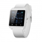 "M28 1.4"" TFT Wearable Bluetooth V3.0 Smart Watch w/ Hands-free Calls, Pedometer, Altimeter - White"