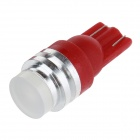T10 1W 700nm 60lm Red Car Lamp (12V / 2PCS)