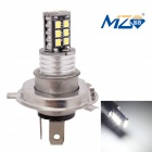 MZ H4 3W Constant Current LED Car Fog Lamp White 6500K 300lm SMD 2835 - Black (12~24V)