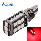 MZ T15 3W LED Car Brake Light / Backup Lamp Red 700nm 300lm SMD 2835 Constant Current (12~24V)