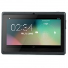 "7"" Android 4.4 A33 Quad Core Capacitive Screen Tablet PC w/ 4GB ROM, Wi-Fi, Dual-Cam - Black"