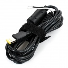 Replacement 12V Power Adapter Repair Cable Cord for Lenovo ThinkPad 10 Tablet PC - Black (150cm)