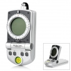 "1.4"" LCD Digital Compass w/ Clock / Thermometer - Grey + Black (2 x AAA)"
