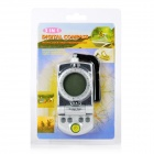 "1.4"" LCD Digital Compass w/ Clock / Thermometer - Grey + Black"