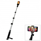 Handheld Bluetooth Selfie Monopod w/ Focus Adjustable for iOS / Android Phone - Black + Grey