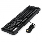 Motospeed K81 USB Wired 104-Key Mechanical Gaming Keyboard - Black