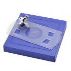 Magnetic Floating Flying Saucer Spinning Top Scientific Toy - Blue
