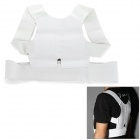 Magnetic Humpback Posture Correction Belt - White