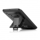 Qi Wireless Charger Transmitter Anti-Slip Pad w/ Folding Stand - Black
