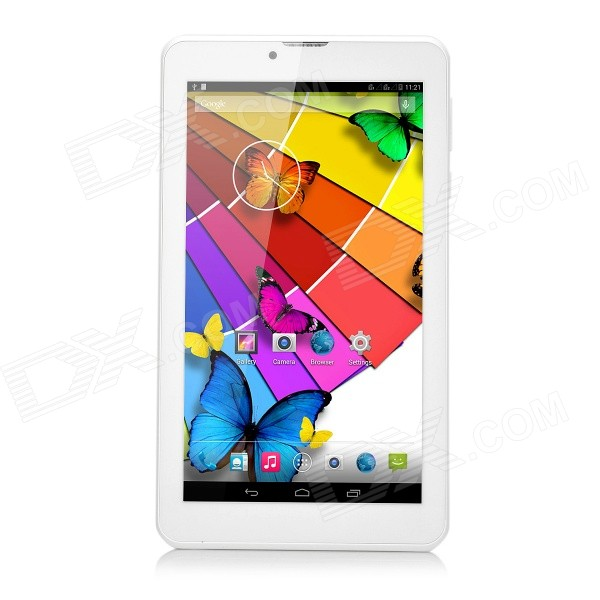 Android TD-SCDMA 3G Tablet w/ 512MB RAM, 8GB ROM - White + Gold