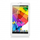 "7"" TFT Quad-Core Android 4.4 TD-SCDMA 3G Tablet PC w/ Dual-SIM, 8GB ROM, BT - White + Golden"