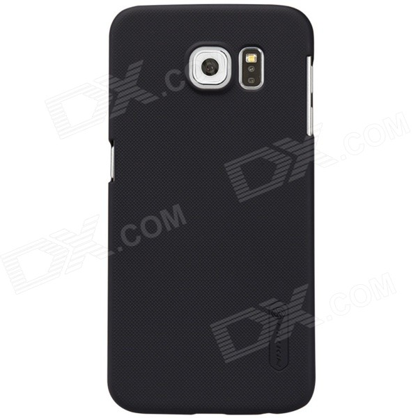 NILLKIN PC Back Case w/ Screen Protector for Samsung Galaxy S6 - Black