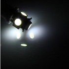 YouOKLight T10 1.5W 100lm 6500K 5-SMD 5050 White Car Lamp (12V/4PCS)