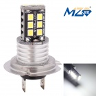 MZ H7 3W 6500K 300lm SMD 2835 White Car Lamp (12~24V)