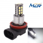 MZ H11 3W LED Car Fog Lamp White Light  300lm 6500K 15-2835 SMD w/ Constant Current (12~24V)