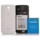 """Presale DOOGEE VALENCIA2 Y100 Octa-Core Android 4.4 Bar Phone w/ 5.0"""" IPS, Back Touch, OTG - White"""