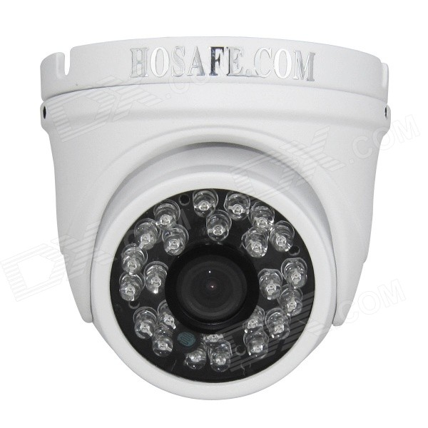 HOSAFE 13MD4P impermeable CMOS 1.3MP 960P POE domo cámara IP - blanco