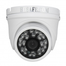 HOSAFE 13MD4P Waterproof CMOS 1.3MP 960P POE Dome IP Camera - White