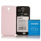 """Presale DOOGEE VALENCIA2 Y100 Octa-Core Android 4.4 Bar Phone w/ 5.0"""" IPS, Back Touch, OTG - Pink"""