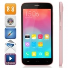 "DOOGEE VALENCIA2 Y100 Octa-Core Android 4.4 Bar Phone w/ 5.0"" IPS, Back Touch, OTG - Pink"