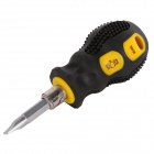 "BESTIR BST-95100 Magnetic 1.5"" Dual-head Combination Slotted & Phillips Screwdriver"