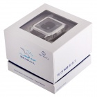 """TOP WATCH TW530D 1.54"""" Waterproof Capacitive Touch Screen GSM Watch Phone w/ Quad-band - White"""